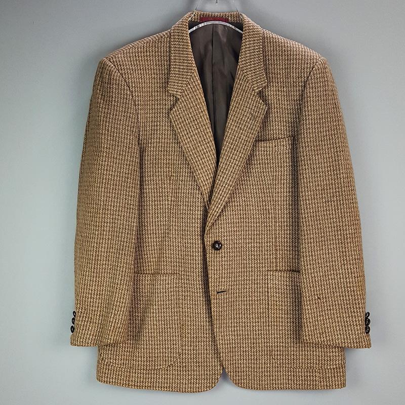 BTF13003 Classic winter Jacket (남)체크 정장자켓 M(구제,빈티지)